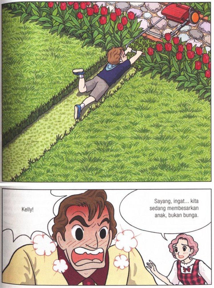 Ingat Kita Sedang Membesarkan Anak Bukan Bunga