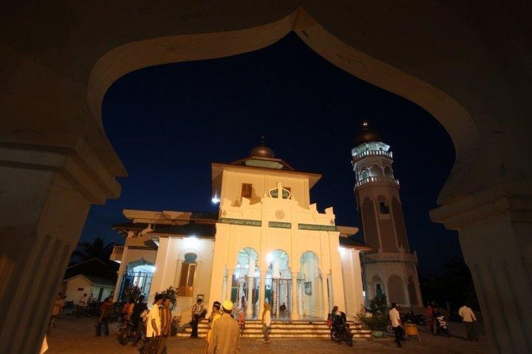 Masjid Baiturrahim, Bukti Sejarah Tsunami Aceh