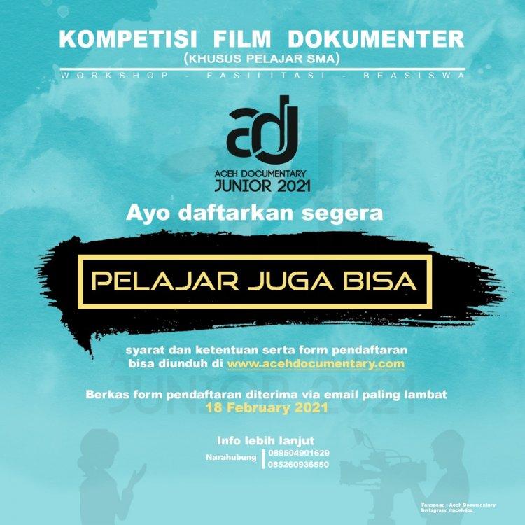 Disbudpar Aceh bersama AcehDoc Gelar Kompetisi Film Dokumenter