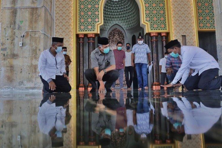 Masjid Batu Giok Bisa Jadi Daya Tarik Wisata Religi di Nagan Raya