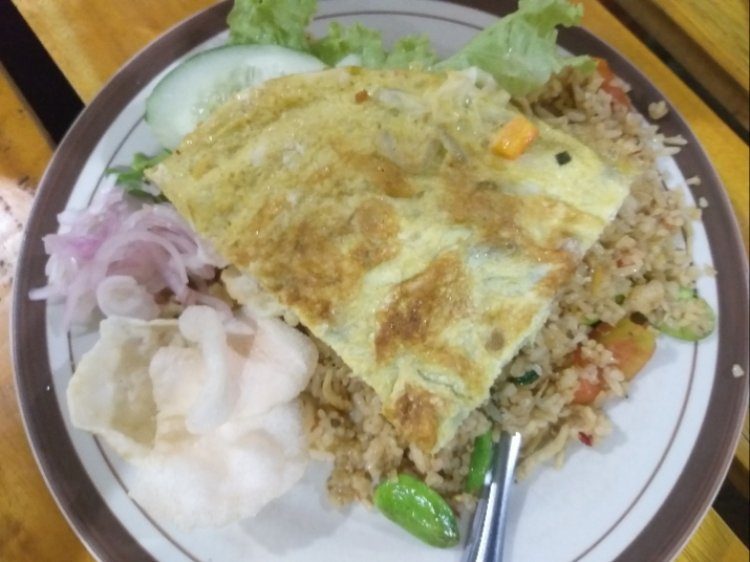 Nasi Goreng Pete di Malioboro Beurawe